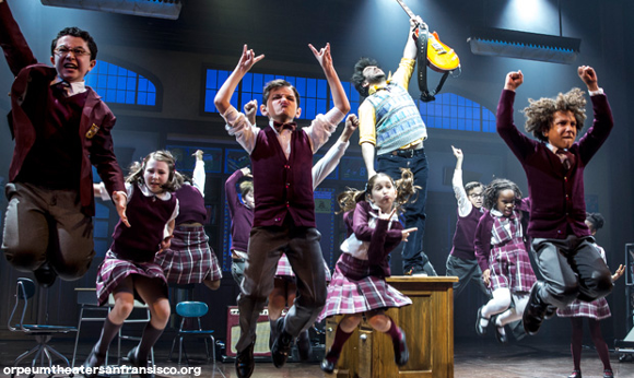 school of rock orpheum theatre san fransisco tickets