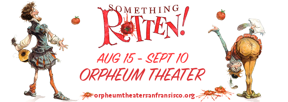 something rotten orpheum theater tickets
