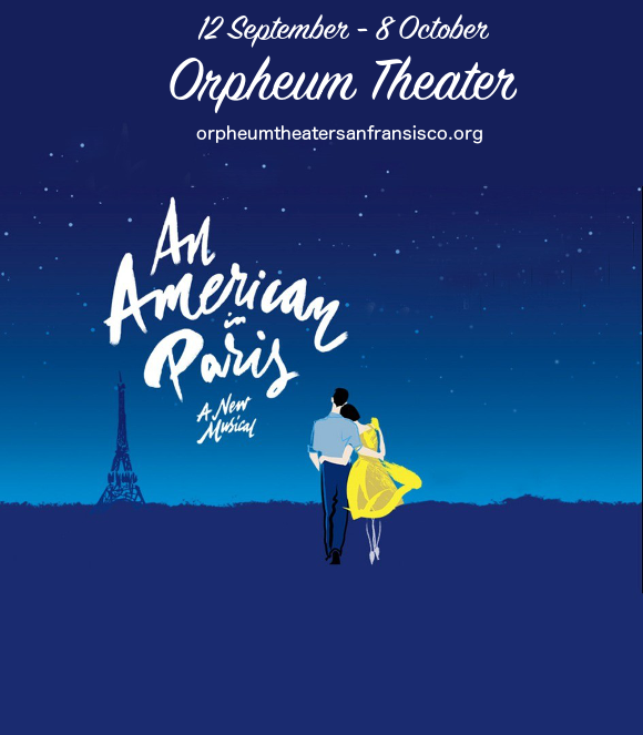 an american in paris broadway tickets orpheum theatre san fransisco