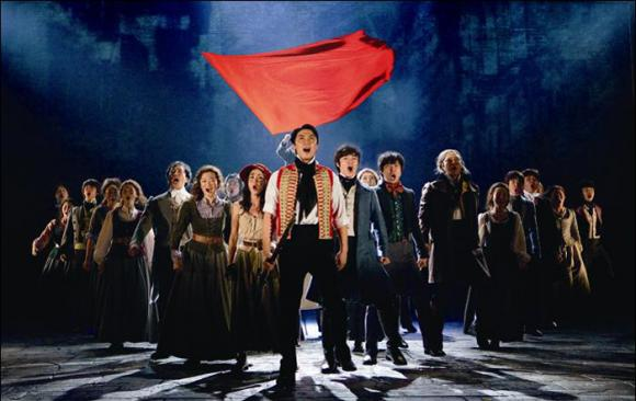 Les Miserables at Orpheum Theatre San Francisco