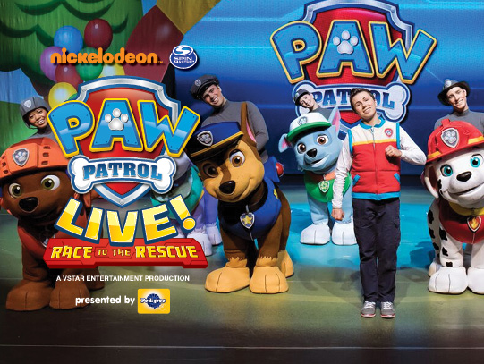 Paw Patrol Live at Orpheum Theatre San Francisco