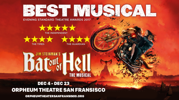 bat out of hell orpheum theatre