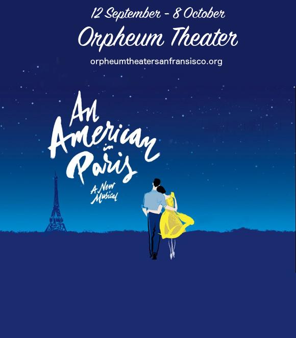 an american in paris broadway tickets orpheum theatre san fransisco